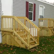 how to build deck stairs new home design stair railing how to build deck railing
