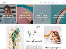 Free Templates Parsa Personal Blog Template Themefisher
