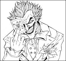 Small Picture The Joker Colouring Pages Anfuk Co Inside Coloring diaetme