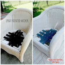 stylish what is the best spray paint for wicker furniture spray painting spray painting rattan furniture
