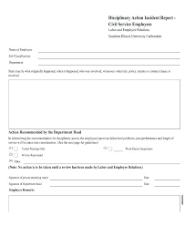 Employee Accident Report Form Template