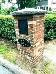 mailbox post ideas. Double Mailbox Post Ideas Lowes A