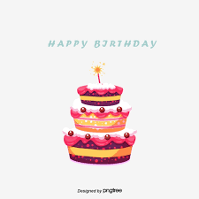 Cartoon Cake Cake Clipart Birthday Cake Happy Birthday Png