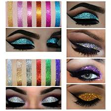 veronni shimmer glitter eye shadow powder palette matte eyeshadow cosmetic makeup by dmzing es