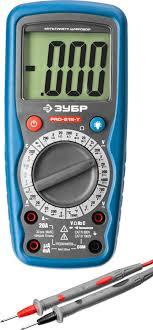 <b>ЗУБР мультиметр</b> цифровой <b>PRO</b>-<b>815</b>-Т 59815-<b>T</b>