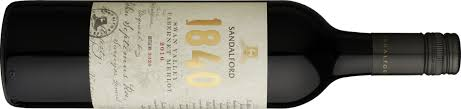 Sandalford 1840 Cabernet Merlot 2017 | vinonotebook