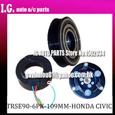 popular honda civic clutch buy cheap honda civic clutch lots from brand new trs090 ac compressor clutch for car honda civic 1 7 2002 2005 three wires