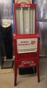 Antique Lance Vending Machine Magnificent Vintage Tom's Toasted Peanuts Nut Or Sandwich Vending Machine Toms