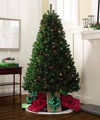 hot 6 5 christmas tree with 500 multi colored for clear lights