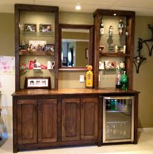 ... Entrancing Kitchen Decoration Using Various Wet Bar Kitchen Cabinets :  Attractive Small Kitchen Decoration Using Sage ...