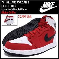 jordan shoes 1 30. nike nike sneakers air jordan 1 retro high gym red/black/white 30 anniversary shoes d