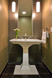 Powder Room Lighting big ideas in small spaces 3 ways to make your powder room or 2221 by xevi.us