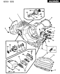 Automatic transaxle 41te chrysler case extension and soleniod automatic transaxle 41te 4 speed at 4l80e transmission diagram