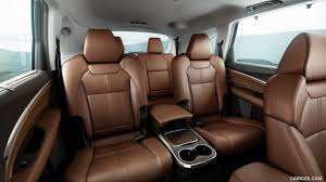 2017 acura mdx interior captains chairs third row seats wallpaper