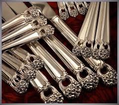 1847 Rogers Bros Silverware Patterns Best 48 Rogers ETERNALLY YOURS Silverware Set Vintage 48 Silver Plate
