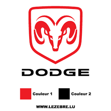 Sticker Dodge Logo