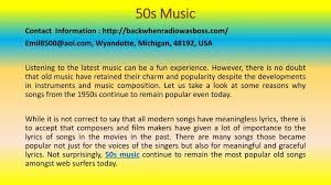 PPT Great 40s Songs For Different Moods PowerPoint Presentation Amazing Old Love Songs 50s Lyrics Rhyme