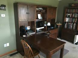home office remodel. Desk Area Before The Home Office Remodel From Walking On Sunshine Recipes. M
