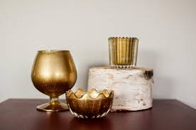 Diy Gold Candle Holders Heavens To Betsy Diy Gold Mercury Glass