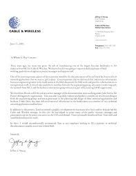 letter of recommendation from employer recommendation letter  the recommendation