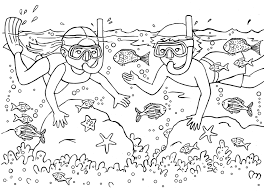 Small Picture Summer Coloring Pages Coloring Page For Kids Kids Coloring