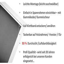 249m² Profi Gewebe Fliegengitter Netz Meterware Fiberglas Gaze