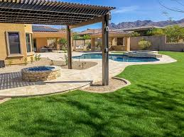 Scottsdale Backyard Design Phoenix Landscaping Designs Outdoor Kitchens And Pavers