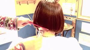 Rikaco 髪型ボブ ワンレングス アシンメトリー女性タレント髪型