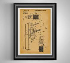 unframed 11x14 one police weapon patent