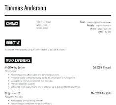 How To Make Resume Online Best Resume Builders Online Resume Sample