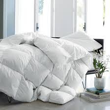 alberta supersize or oversized baffled goose down comforter duvet the company