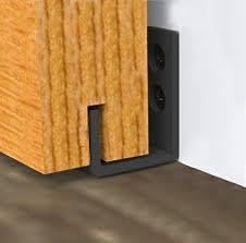 amazon homedeco hardware new style sliding barn door hardware door bottom floor guide wall guide s home improvement
