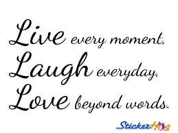 Love Life Quotes Unique Wall Quotes Wall Sayings Life Quotes Live Laugh Love Wall