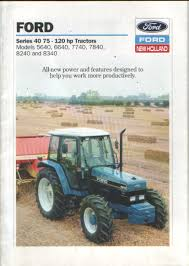 ford new holland 7740 related keywords suggestions ford new ford new holland tractor 5640 6640 7740 7840 8240 8340 brochure