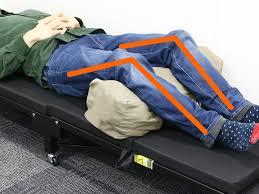 「ぎっくり腰 仰向け」の画像検索結果