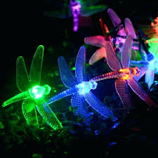 battery operated outdoor lights with timer led super bright battery operated dragonfly string lights with 8 modes automatic timer and indicator light for