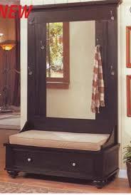 Wood Hall Tree Coat Rack Entryway Bench 100 best Entryway bench with hall tree images on Pinterest Hall 92