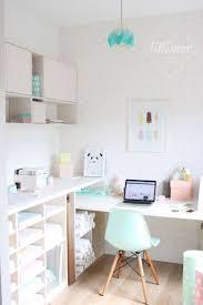 office craft room ideas. #eeflillemor Pretty Cute Craft Room Home Office Inspirations Ideas