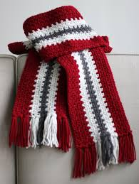 Free Mens Crochet Scarf Pattern Gorgeous Crocheted Men's Stripe Scarf Make A Vertical Stripe Scarf Using