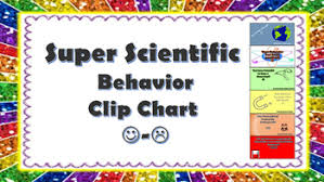Behavior Clip Chart W Science Puns