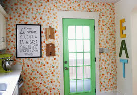 Square Rooms Wall Murals DIY Stamping