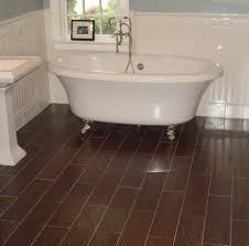 bathroom design tile flooring bathroom small wood tile dark brown wooden like brick