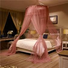 luxury romantic suspended ceiling mosquito net prevent mosquitoes home decoration bedding set suitable for full size bed mosquito netting camping mosquito