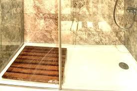 shower kits kit large size of base installation over tile floor on wall instructions image bases