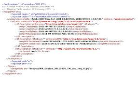 Viewing Xml File How To Open Xml File In Arcgis 10 Geographic Information