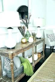 I Hallway Table Decor Entrance