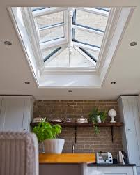 roof lighting. view case study roof light opens up this kitchen lighting f