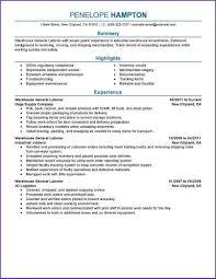 Resume Samples General General Resume Samples Labor Krida 1