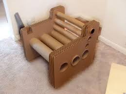 cardboard tube furniture. Introduction: Zig Zag Structure - Cardboard Chair Tube Furniture E