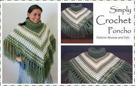 Free Crochet Poncho Pattern Amazing Design Ideas